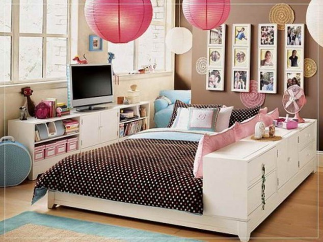 Teenage-Girl-Room-Theme-Ideas-with-Oriental-634x475