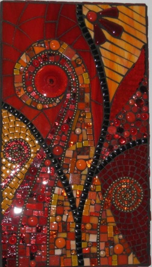 5 superbes idées de décoration avec un art en mosaïque – Objets de ...