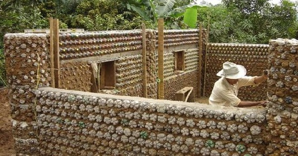 Houses-with-Plastic-Bottles