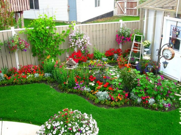 incredible-beautiful-backyard-flower-gardens-on-home-garden-with-outside-your-home-on-pinterest-99-pins-633x475