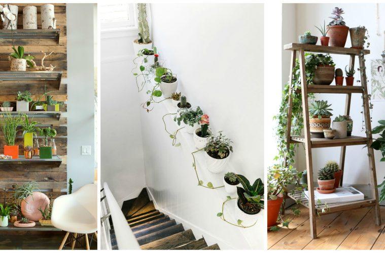 10 fa ons inattendues de d corer votre maison avec des plantes objets de d coration. Black Bedroom Furniture Sets. Home Design Ideas