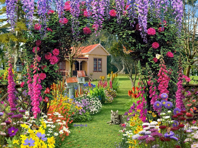 magnificent-beautiful-flower-garden-wallpaper-on-home-garden-with-flower-garden-wallpaper-background-ideas-amazing-633x475
