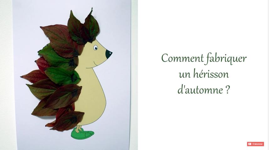 herisson-automne